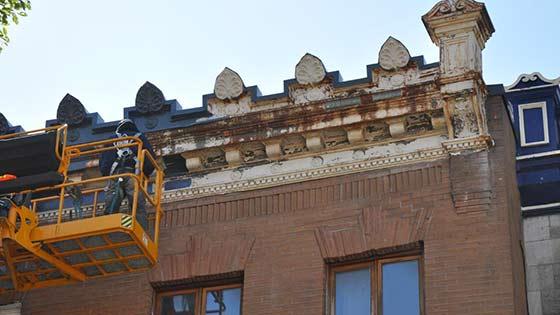 Restauration patrimoniale à Montréal