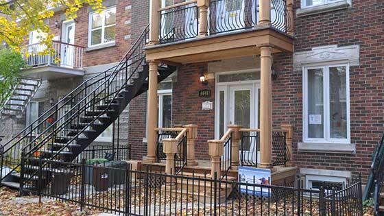 Rénovation de balcon à Montréal